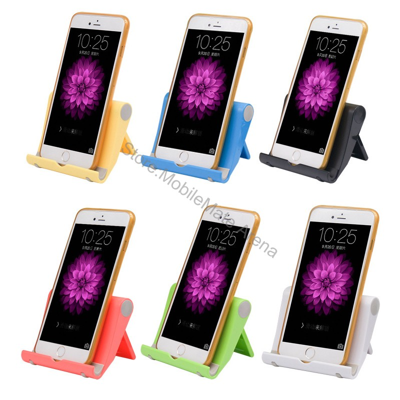 Lazy Mobile Cell Phone Stand Holder Mount Bed Desk Office Table Smartphone Accessory Desktop Foldable Soporte Movil For Iphone 6(China (Mainland))