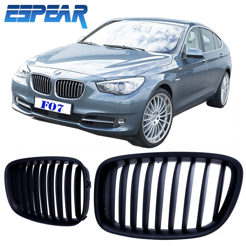 2015 1set Matte Black Wide Kidney Grill Front Grilles For BMW F07 GT Gran Turismo 5 Series 2012-2015 with Retail Package Bengear<br><br>Aliexpress