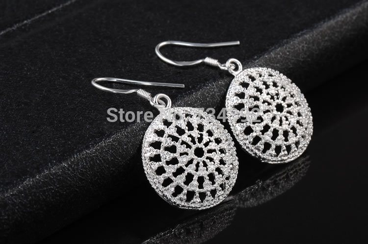 2015 New Earrings Sale Romantic Earings Fine Jewelry Earring Plating Tremella Nail Fashion Ms Wedding Present Sell Like Cakes(China (Mainland))
