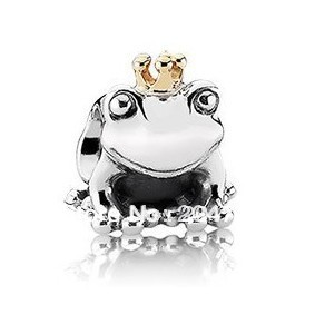 New Free Shipping 925 Silver Bead The Frog prince European charms Compatible fit pandora Bracelets&bangle necklace H1052(China (Mainland))