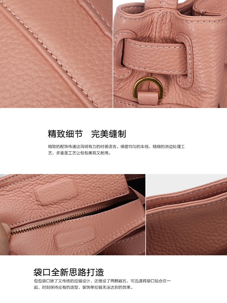 2016  new style women Genuine leather Crossbody Bag Fashion Small Women Shoulder Bag famous brand  luxury messenger bag
