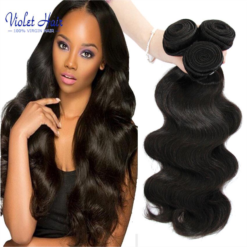 Grade 8A Brazilian Virgin Hair Body Wave 4 Bundles Human Hair weave Brazilian Body Wave 3pcs lot Unprocessed queen hair products<br><br>Aliexpress