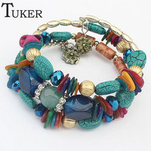 2015 Limited Real Spring-ring-clasps Zinc Geometric Sterling Jewelry Pulseras Loom Bands Multi-national Wind Exquisite Brac(China (Mainland))