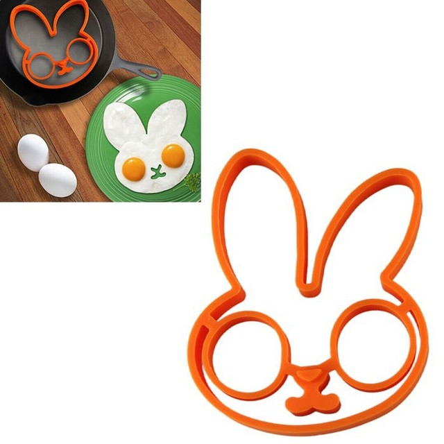 Rabbit Silicone Egg Mold (Ring)