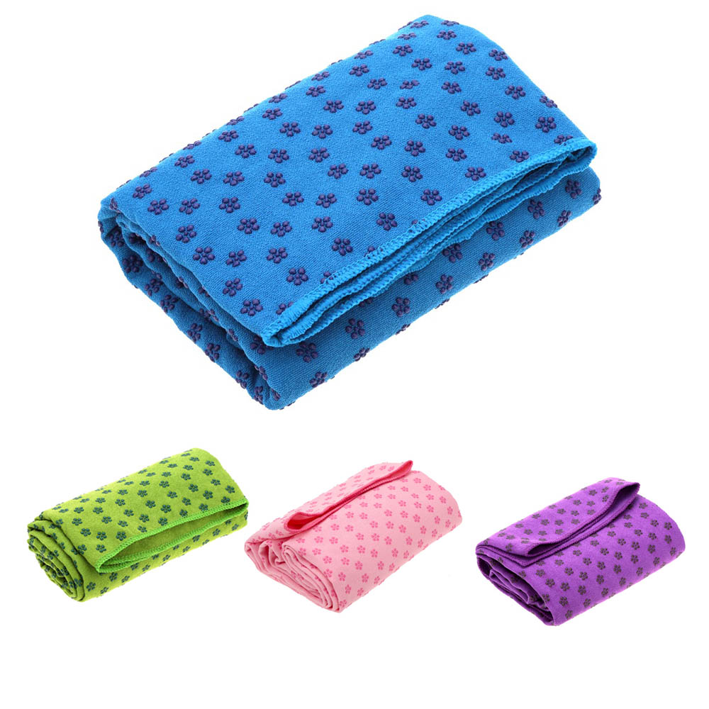 Non-slip Sweat Absorbent Yoga Mat Towel For The Cool Cold Weather Prevent The Cold For Yoga Training Keep Balance Exercise Towel(China (Mainland))