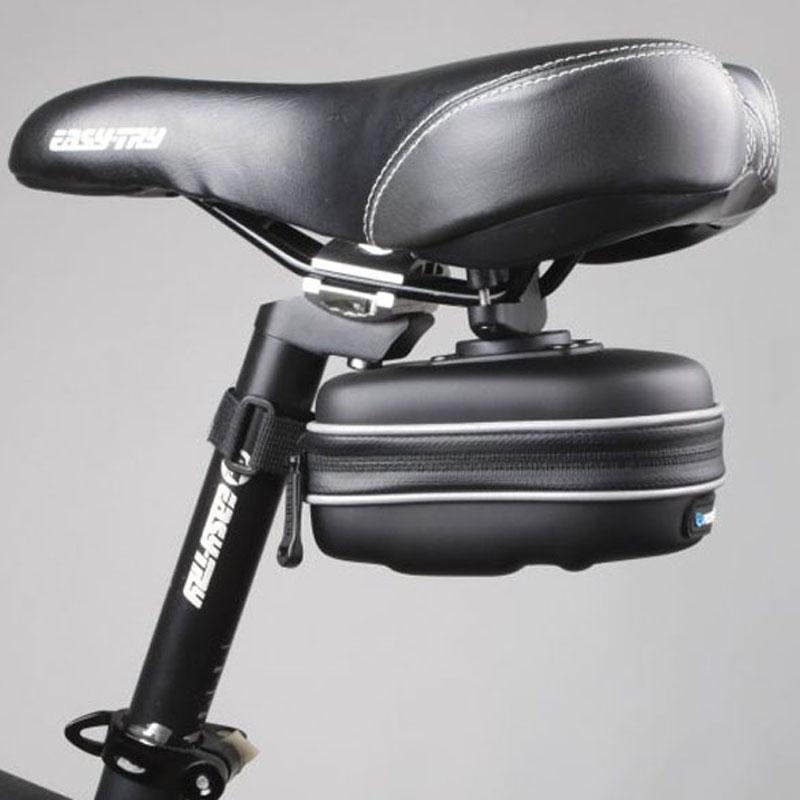 ROSWHEEL Outdoor Cycling Saddle Seat Bag EVA Basket Rear Pouch Bike Case #gib(China (Mainland))