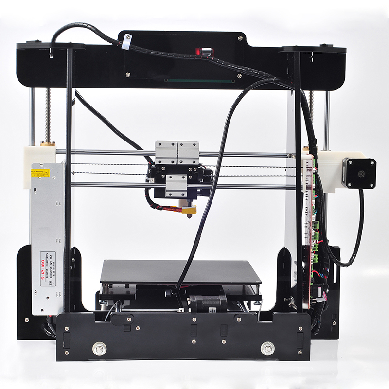 Big size 220 220 235mm High Quality Precision Reprap Prusa i3 DIY 3d Printer kit with16GB