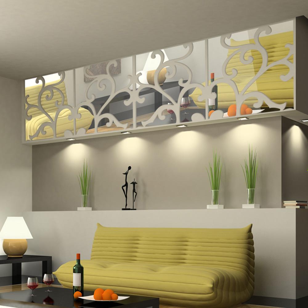 Unique wall mirrors decor