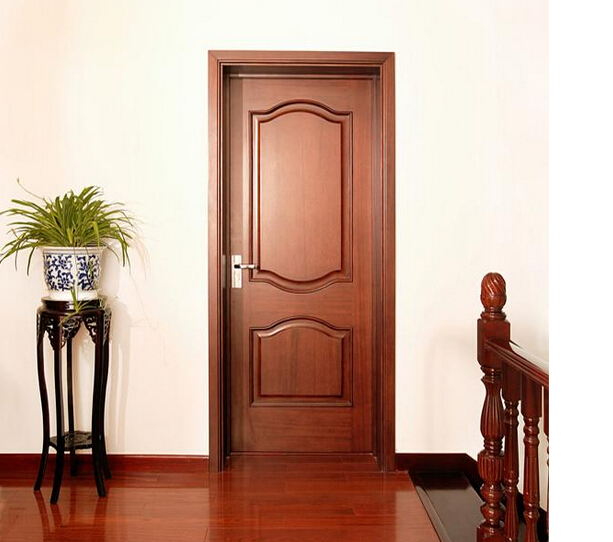 Customized panel door interior door solid wood door home for Solid wood door construction