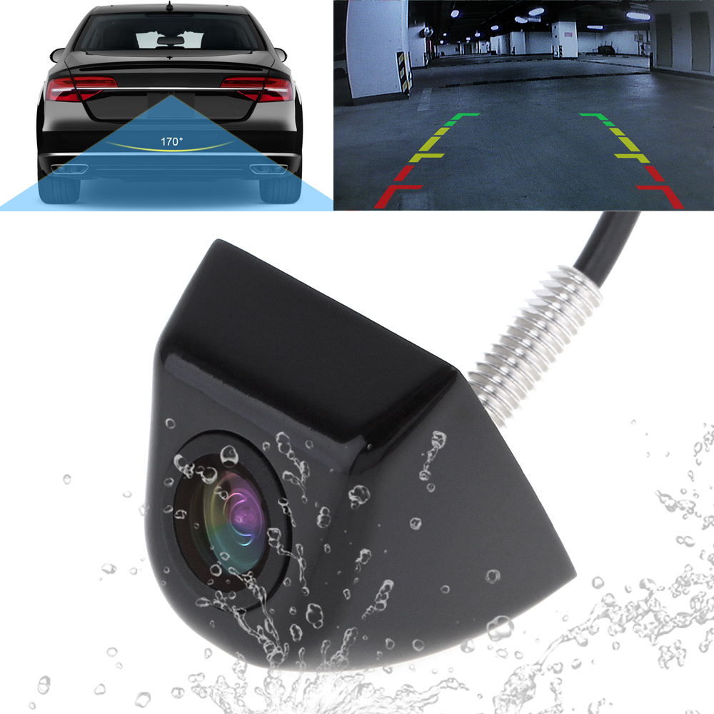 Night Vision Auto Car Rear View Camera 170 Degree Wide Angle Waterproof Car Parking Rearview Backup Reverse Camera for Vehicles(China (Mainland))