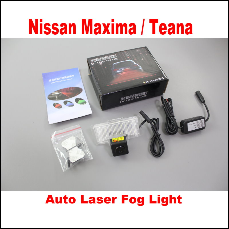 Car Rain, Snow, Haze The Lights Laser Super Waterproof Dust-Proof Fog Light, Safety Lights, / For Nissan Maxima / Teana