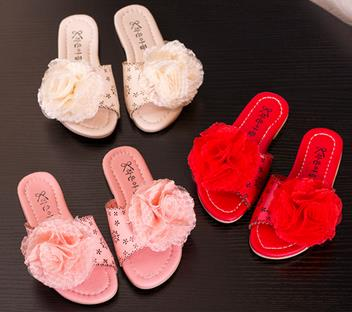 Children air flats slipper kids summer style 2016 loafers flower girls fashion soft bottom procrastinates sandals infantil 564b<br><br>Aliexpress