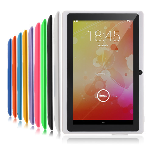 "IRULU eXpro 7"" Tablet PC Quad Core 16GB ROM 7"" Android 4.4.2 Real 1024*600 HD Dual Cam 2.0MP Support 3G WIFI Highest Version(China (Mainland))"