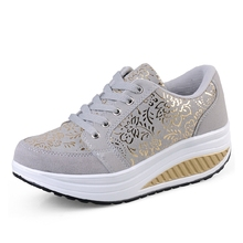 2014 Fashion Spring and Autumn Comfortable Leather Sprot Shoes, Women's Swing Shoes ,Sneakers Women