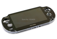 Original second-hand for ps vita psvita 1 1000 lcd display with touch screen digital assembled for psv1000 psv 1000(China (Mainland))