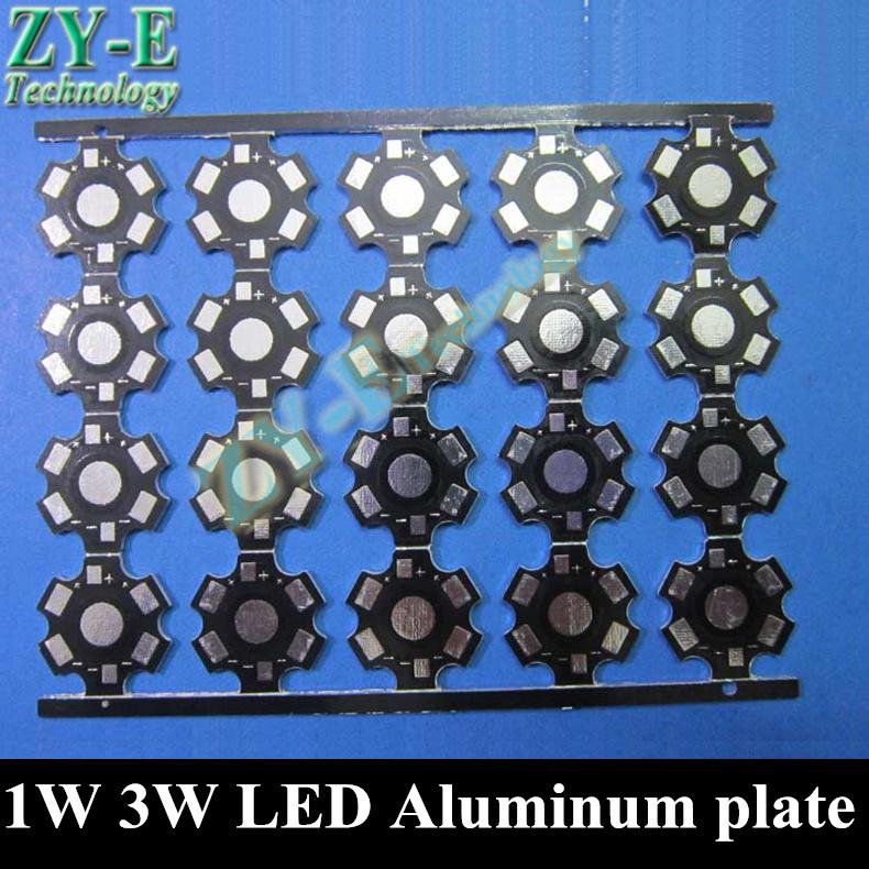 1W 3W 5W LED Aluminum plate led pcb,aluminum base heat sink panel for bead led bulb light spotlight lights free shipping(China (Mainland))