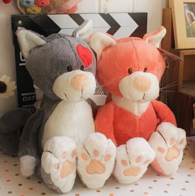 nici Classic and lovely cats doll Interesting soft plush toys 50cm(19.68'')2pc/lot the best holiday gift for children wh112(China (Mainland))