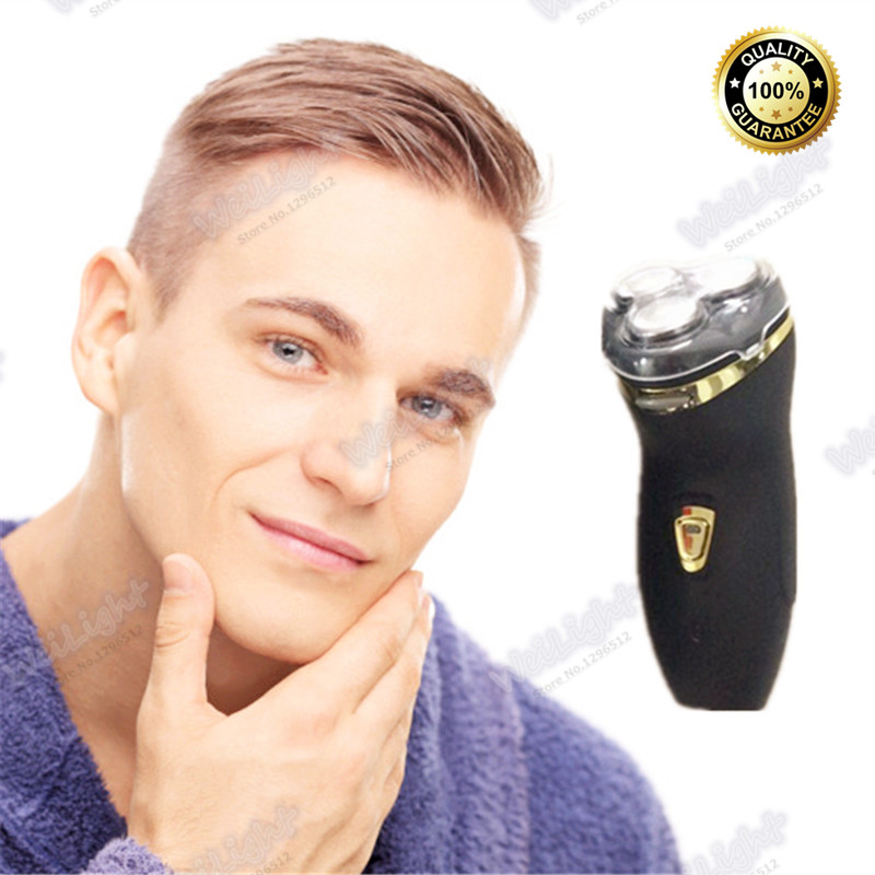 2 in 1 Electric Rechargeable Men Shaver Razor Vintage Black Rechargeable Shaver Portable Electric Shavers with Brush TXD-03(China (Mainland))