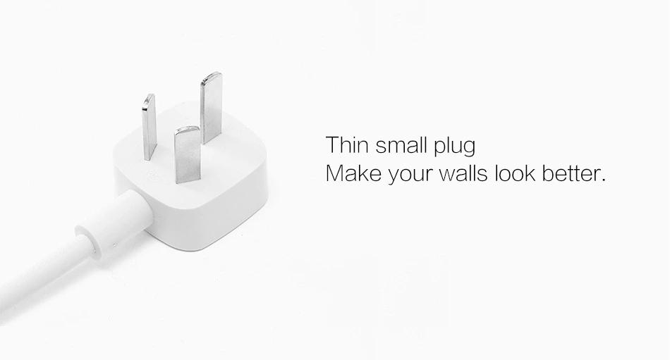 100% Original Xiaomi Power Socket Plug Strip, 5 Smart Intelligent Safety Electrical Plug Socket Adapter have EU UK adapter (3)