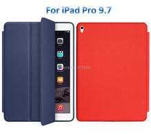 1:1 Smart cover case for iPad Pro 9.7/iPad Air 2 leather case cover for ipad 6/7 1pcs/lot free shipping(China (Mainland))