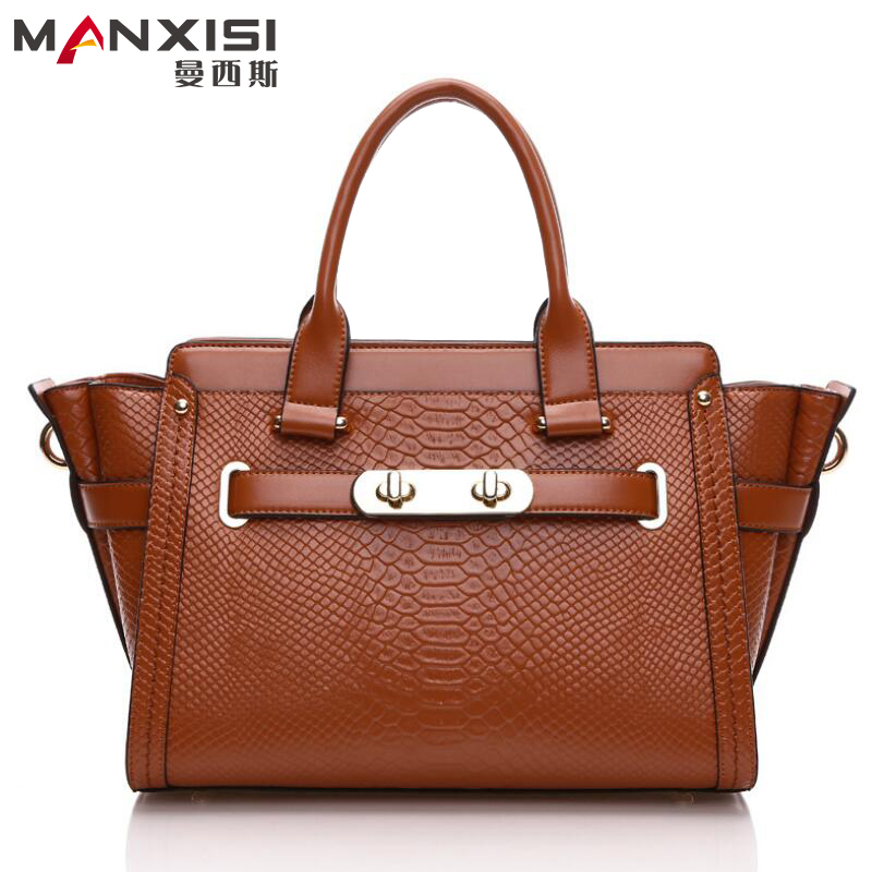 Genuine Serpentine Women Bag Brown Cowhide Genuine Leather Women Messenger Bag Designer Handbags High Quality Brand<br><br>Aliexpress