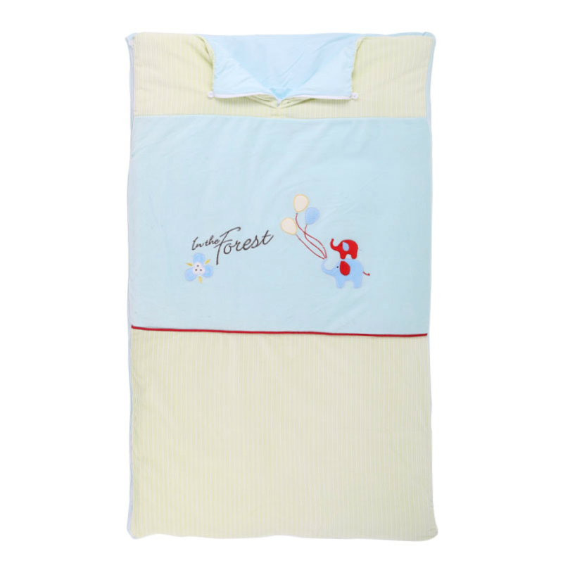 Baby  sleeping bag envelope for newborns 100%cotton maillot baby colthing To prevent the baby kick a quilt thick  comfortable