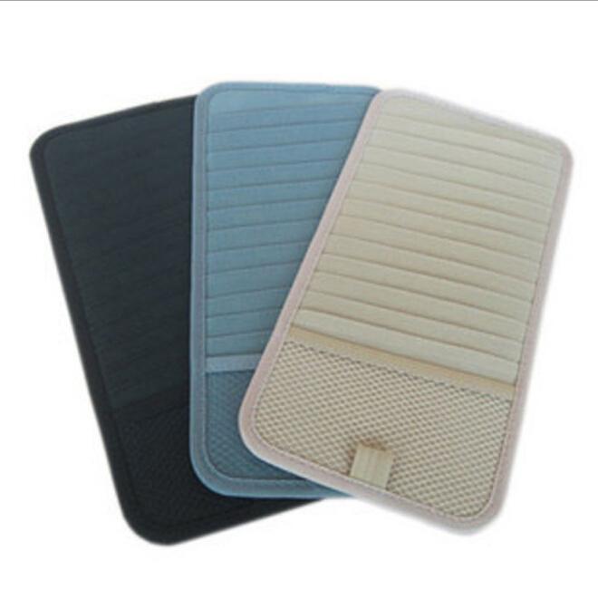Auto Car CD DVD Sun Visor Card Case Storage Holder Clipper Bag Hold 12pcs Disks(China (Mainland))