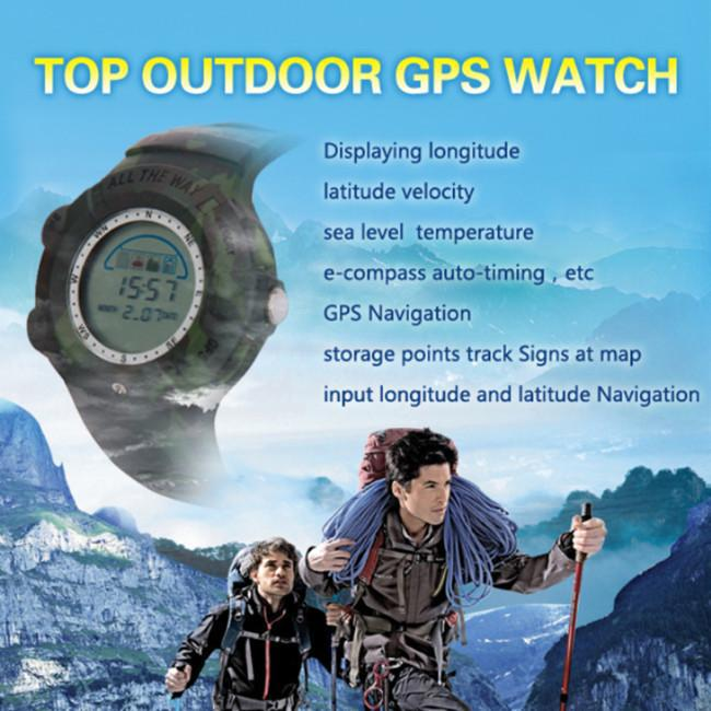 Hot outdoor sports GPS watch waterproof and shockproof automatically(China (Mainland))