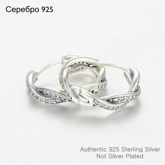 S925 стерлингового серебра ирония судьбы серьги с четкими CZ женщины DIY украшения матч известная марка ювелирных изделий летний стиль