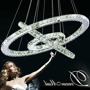 Aliexpress Buy LED Crystal Ring Chandelier Diamond
