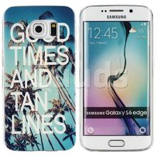 Wholesale for Samsung S6 Edge G9250 TPU Case Good Times Painting Soft TPU Case for Samsung Galaxy S6 Edge G925 Factory Price(China (Mainland))