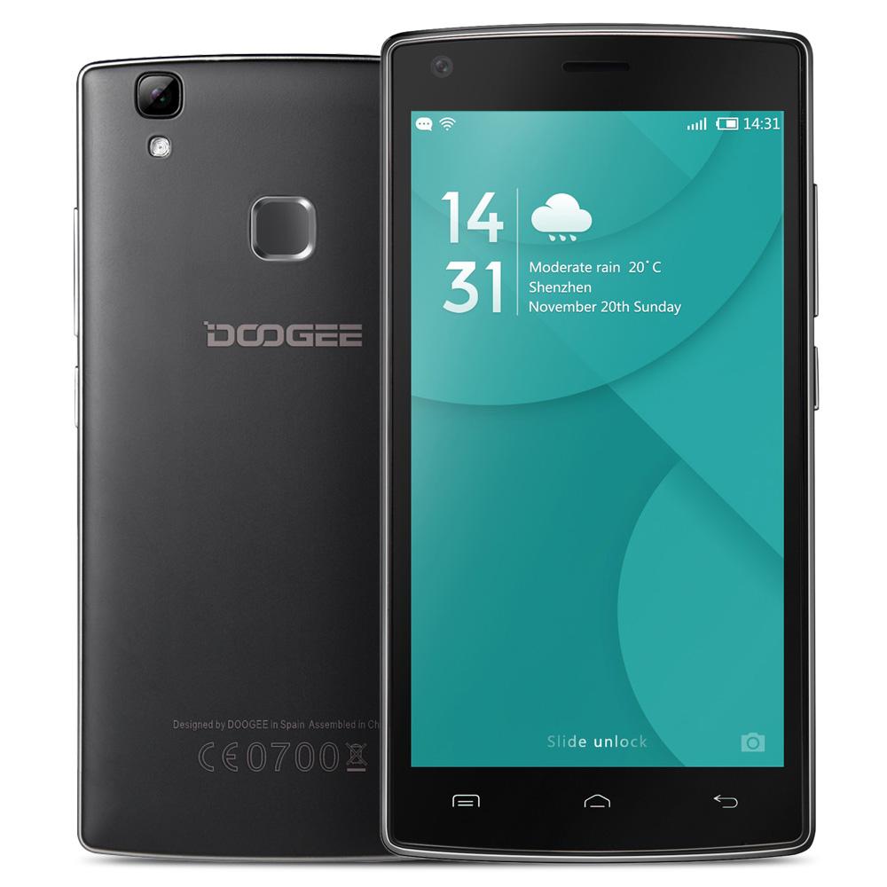 "Original DOOGEE X5 MAX Smartphone 3G MTK6580 5.0"" IPS HD 1280*720 Screen Android 6.0 1G+8G 8MP+8MP 4000 mAh Fingerprint Unlock(China (Mainland))"