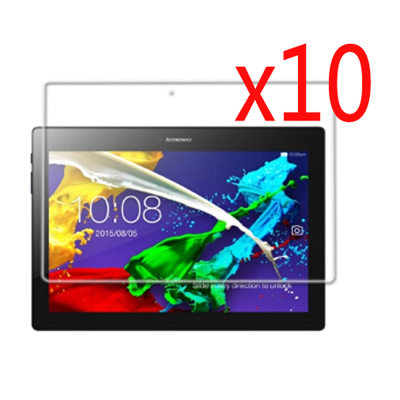 10x Clear Films + 10x Clean Cloth , LCD Screen Protector Films Protective Film Guards For Lenovo Tab 2 A10-70 Tab2 A10-70F 10.1<br><br>Aliexpress