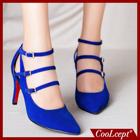 women real genuine leather red bottom suede high heel shoes brand sexy fashion pumps ladies heeled shoes size 33-40 R6462