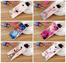 Cartoon Elephant Tower Deer Flower pattern Soft TPU Cell Phone Case Back Cover for Xiaomi Redmi 2 Hongmi 2