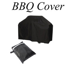 Waterproof BBQ Grill Black Cover Garden Patio Rain Anti Dust Proof Barbecue Party Protecter Shield(China (Mainland))