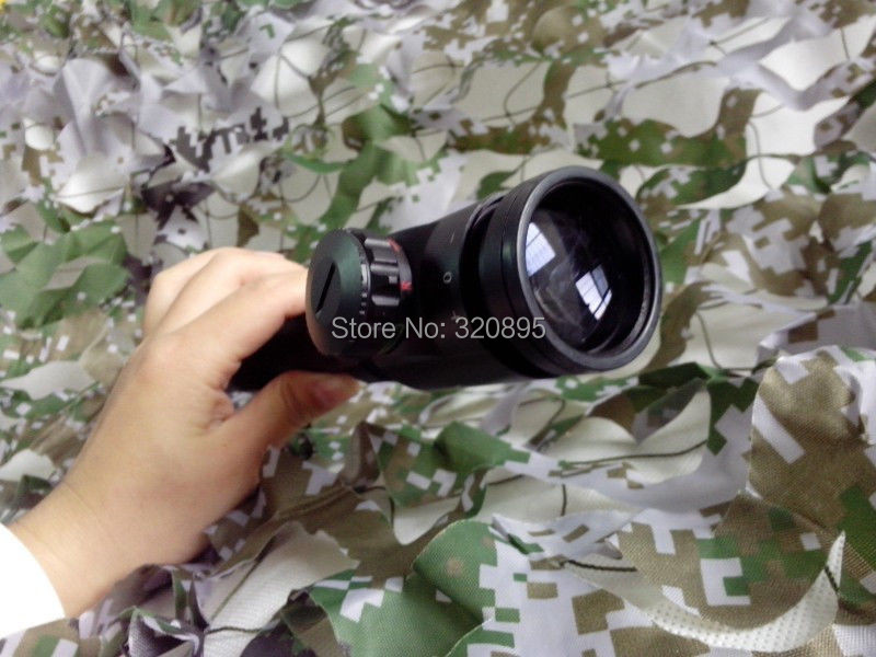 Винтовочный оптический прицел Srate Red Dot Rifle Scope 3/9 X 40 3-9X40 air telescope rifle mil dot 3 9x40 ao tactical red green blue llluminate rifle scope optical sight air scopes w sunshade