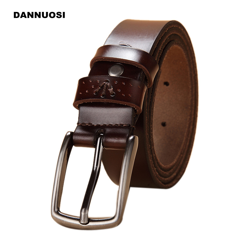 [DANNUOSI] 2016 new retro pure leather belt high quality leather belt leisure Ms. Pin buckle belt Ms. female wearing rope Belt(China (Mainland))