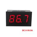 Red LED Display DC4 5 28V Ammeter Current Panel Meter Ampere Meter Digital Ammeter DC 0