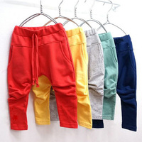 Free Shipping Boys New Harem Pants for Kids Spring Autumn Wear,Children Long Trousers K2262