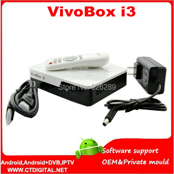 ViVobox i3 satellite receiver almlogic 8726-mx dual core 3d android 4.2 tv box dvb-s2 twin tuner iks receiver vivobox s5(China (Mainland))