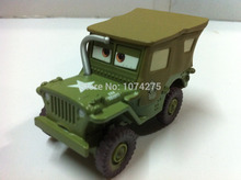 Buy Pixar Cars Saluting Sarge Metal Diecast Toy Car 1:55 Loose Brand New Stock & Free for $12.98 in AliExpress store