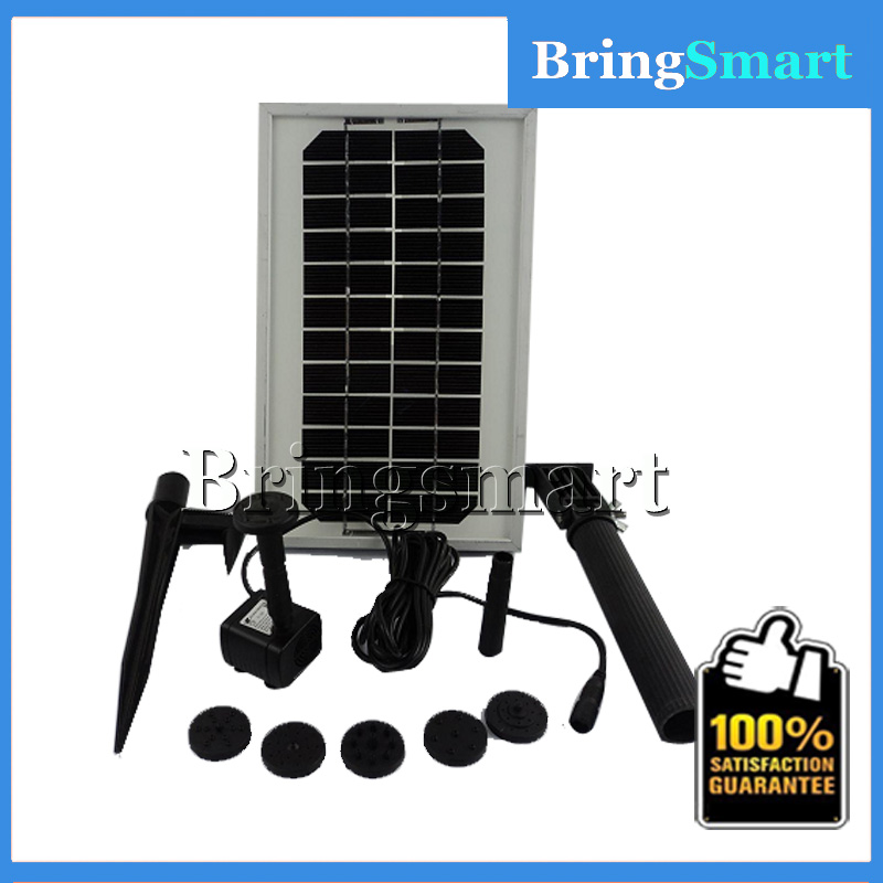 Free shipping JT-180-3W Lift 150CM Pool Brushless Solar Water Pumps DC Pump Landscape Fountain Floating Pump Kit(China (Mainland))