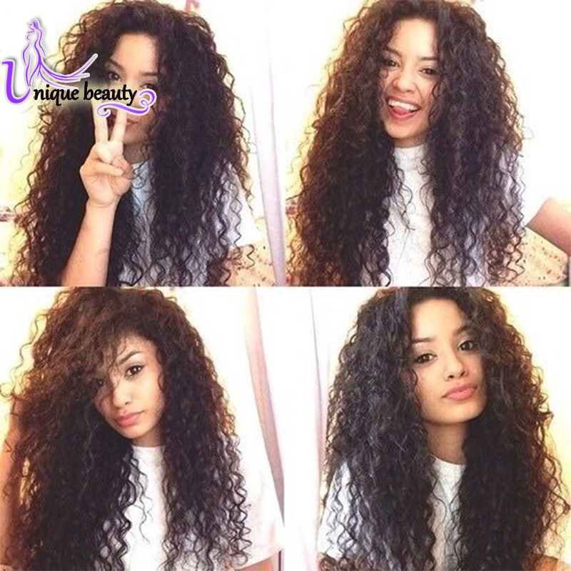 Top Fashion Malaysian Curly Hair Weave 4 Bundle Deals Curly Vip Beauty Hair Products Malaysian Hair Weave Bundles Curly(China (Mainland))