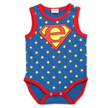 High Quality Newborn cotton baby rompers baby costume baby boy clothing Cartoon Short sleeves similar carters