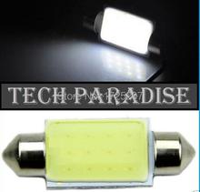 1X Free shipping car styling 31mm 36mm 39mm C5W 12V 3W Car led festoon light COB 12 chips Auto led LIGHT LAMP bulbs car light(China (Mainland))