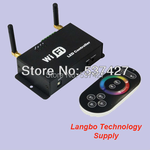 Free Shipping, Matched with Mobile phone/Ipad/PC Color Changing WiFi Controller,  with 2 years warranty CE RoHS certified<br><br>Aliexpress