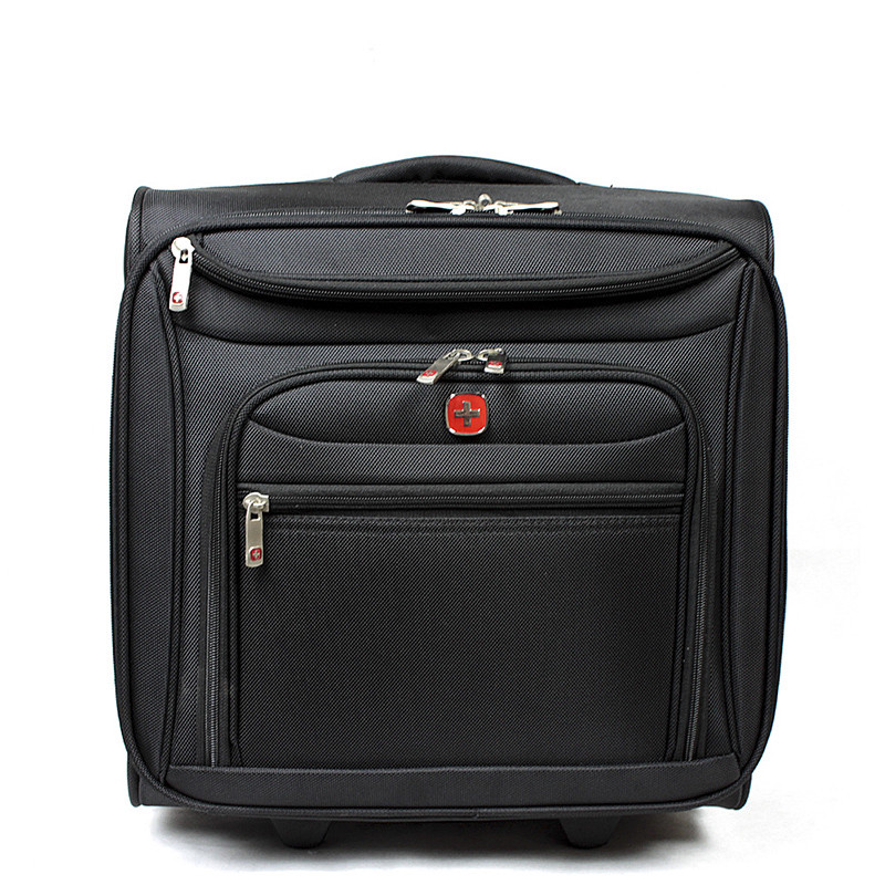 2015 HOT sale 16 inch Business Oxford cloth computer Trolley Luggage brand Suitcase Board Travel Bag For Men and Women Specials(China (Mainland))