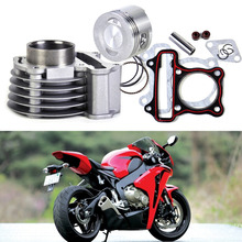 Buy New 47mm Big Bore Kit Cylinder Piston Rings fit GY6 50cc 80cc 4 Stroke Scooter Moped ATV 139QMB 139QMA engine for $30.25 in AliExpress store
