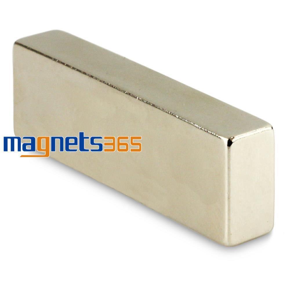 Гаджет  1pc Strong Big Strip Block Cuboid 60 x 20 x 10mm Rare Earth Neodymium Magnet N50 None Строительство и Недвижимость